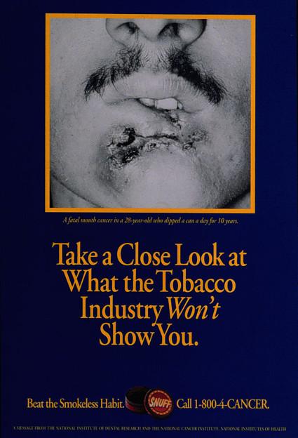 タバコ産業があなたにみせたくないものをしっかり見なさい