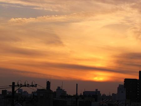 夕焼け空~♪