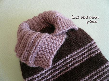 みらくのための手編みセーター 7