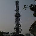 写真: テレビ塔をこんなふうに見た...