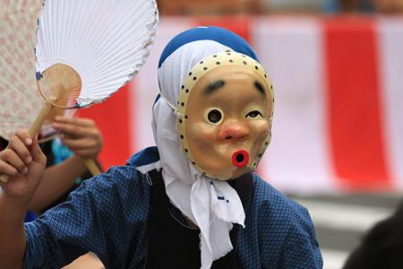2010.08.08 富士市 甲子祭 ひょっとこ