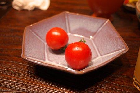 2010.10.26 肘折温泉 朝食 ミニトマト
