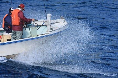 2010.10.29 浄土ヶ浜 島めぐり 釣船