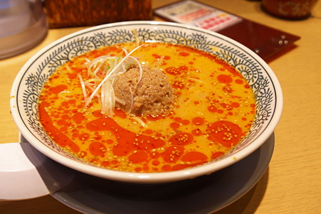 2010.12.25 和泉川 丸源ラーメン  白胡麻坦々麺