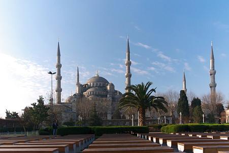 2011.01.27 トルコ イスタンブル スルタンアフメト・モスク