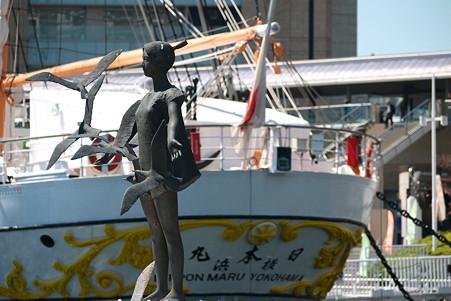 2011.04.05 みなとみらい 海鳥達の風