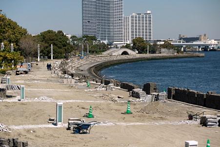 2011.04.05 みなとみらい 臨港パーク 東日本大震災の爪跡