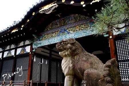 極彩色唐破風彫刻・・伏見 御香宮神社・・4