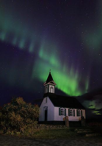 Church & Aurora