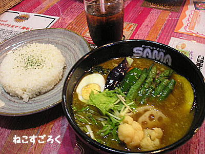Curry&Cafe SAMA (スープカレー) @ 行田
