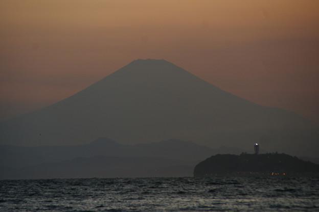 Photos: 影富士が浮かび出る!(20100826)