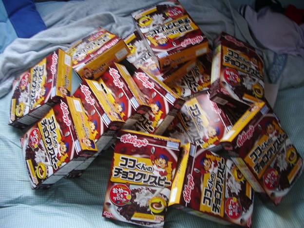 ケロッグ(チョコクリスピー)5000円分