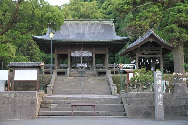 写真: 100516-12九州ロングツーリング・鶴嶺神社4