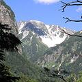 Photos: 100721-60振り返れば屏風岩と南岳