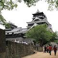 写真: 100518-24大九州ロングツーリング・熊本城・天守と小天守
