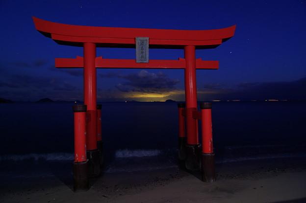 松山の明かり(2)