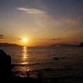 伊崎の夕陽