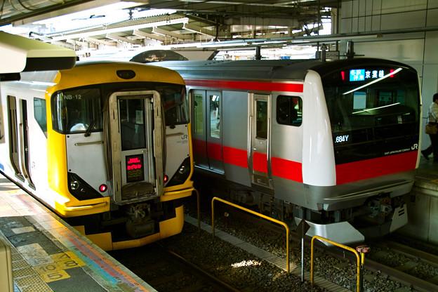 JR蘇我駅ですよ!