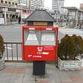 JR奈良駅前のポスト