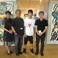 Photos: 了真くん個展
