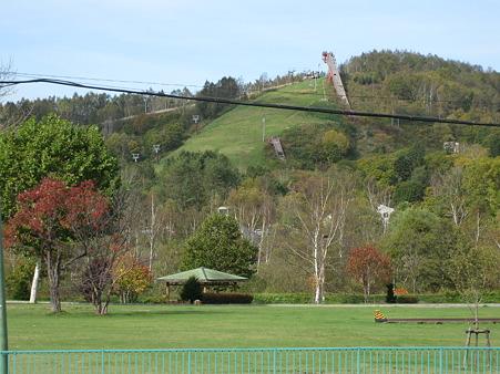 スキー場にジャンプ場もあるのですね