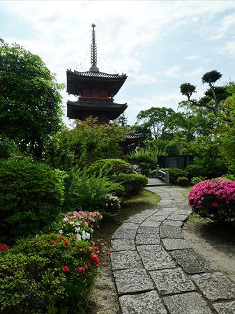 豊前国分寺(4)三重塔