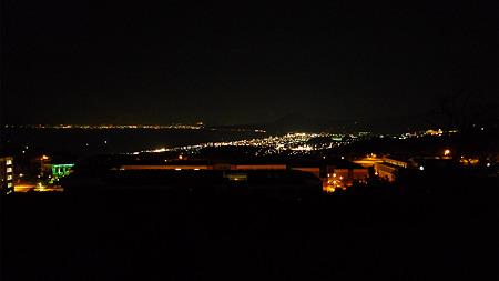 別府湾SAからの夜景