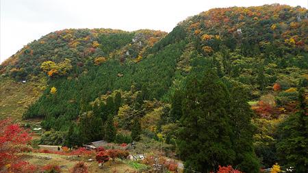 深耶馬渓~楓乃木からの眺め(6)