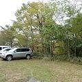 写真: 白髪山駐車場