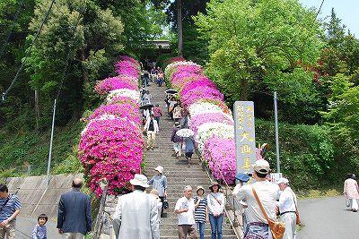 写真: 階段長い!