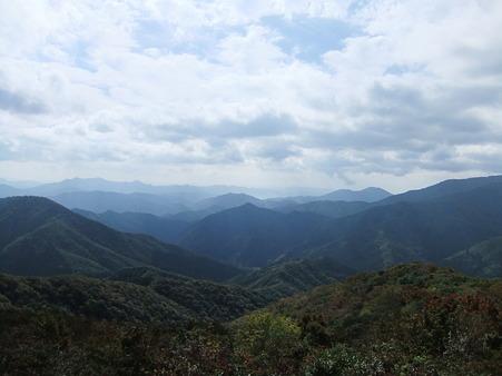 牛曳山山頂からの眺望