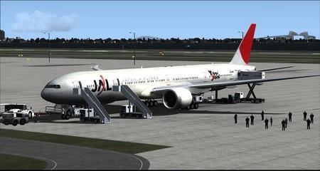 fsx 777-300 Yokoso!Japan塗装