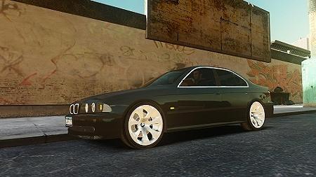 GTAIV BMW 530I E39 12